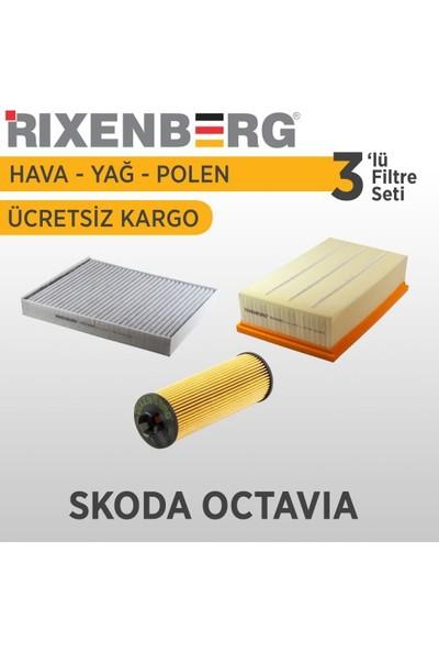 Rixenberg Filters Skoda Octavia 3'Lü Filtre Seti