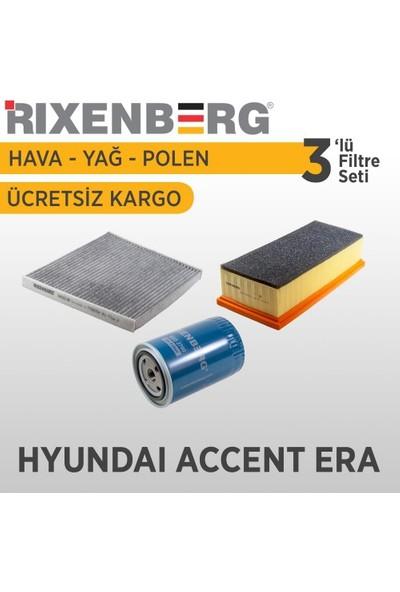 Rixenberg Filters Hyundai Accent Era 3'Lü Filtre Seti