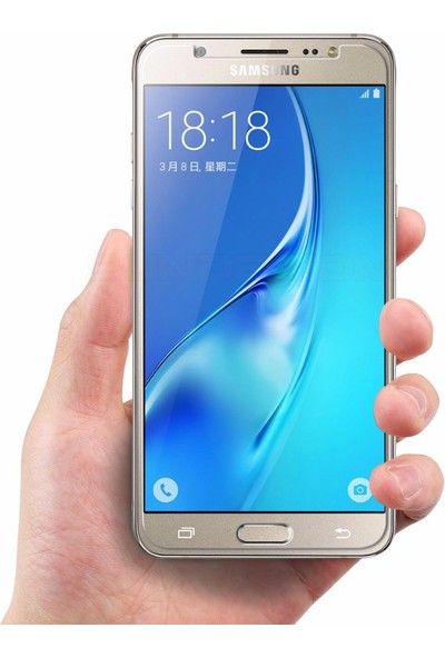 Microsonic Samsung Galaxy J5 2016 Temperli Cam Ekran Koruyucu Film