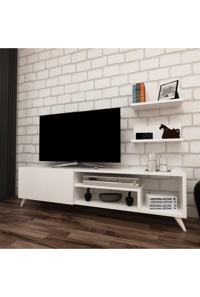 Evbingo Borneo Tv Ünitesi Beyaz