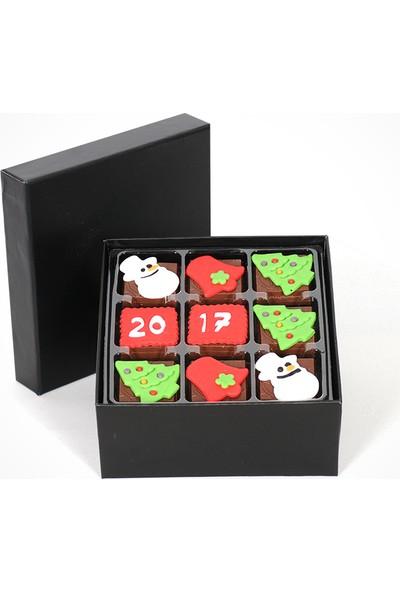 ChocChic Küp Kutuda Yılbaşı Çikolatası