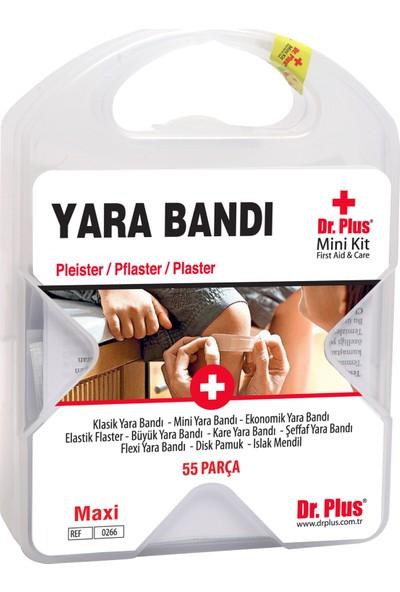 Dr Plus İlk Yardım Çantası Yara Bandı 55 Parça MiniKit