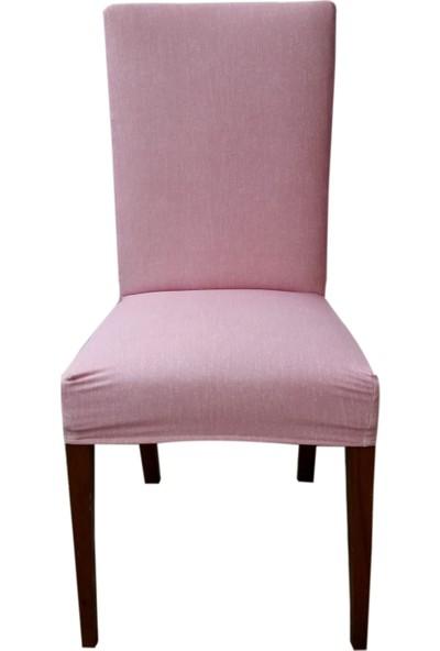Akçağ Kırcıllı Düz Sandalye Kılıfı