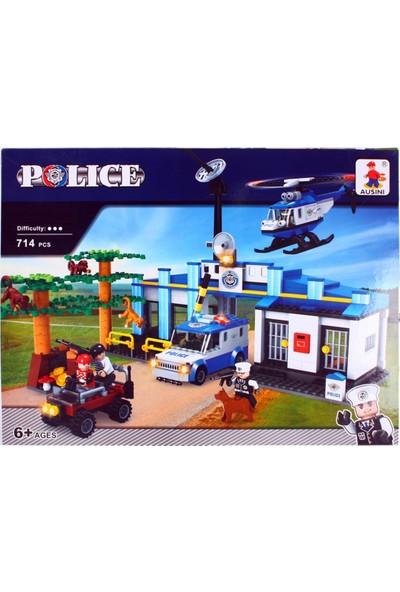 Mega Oyuncak Polis Seti 714 Parça
