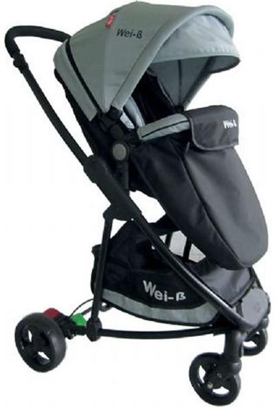 Wei-B Gloria Travel Sistem Bebek Arabası Gri - Siyah