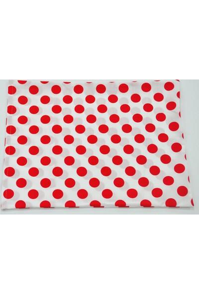 Happy Me - Kırmızı Yastık Kılıfı - 30 x 40 cm