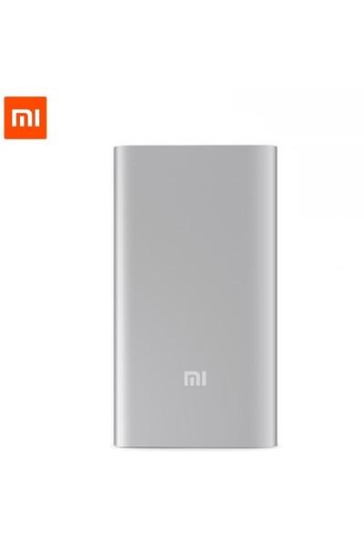 Xiaomi 10000 mAh (Versiyon 2) Taşınabilir Şarj Cihazı Gümüş (İnce ve Hafif Kasa)