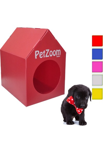 Petzoom Yavru Köpek Kulübesi-Sokak Hayvanları İçin Kulübe