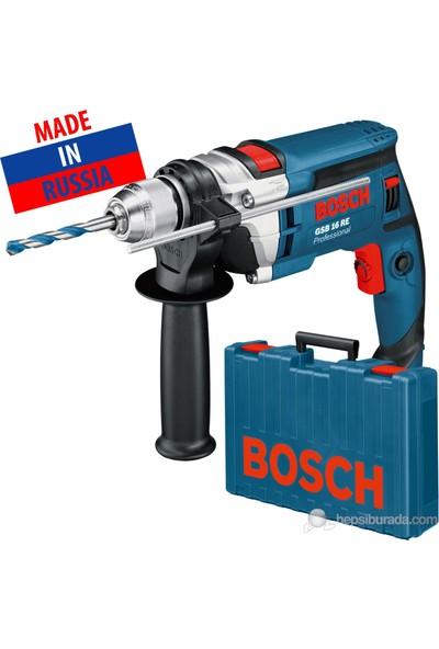 Bosch GSB 16 RE 750 Watt Profesyonel Darbeli Matkap
