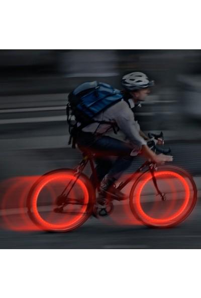 Nite Ize See'Em LED Jant Işığı 2li Paket-Kırmızı