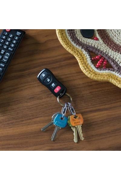 Nite Ize IdentiKey/MicroLock S-Biner 4lü Anahtar Kılıfı