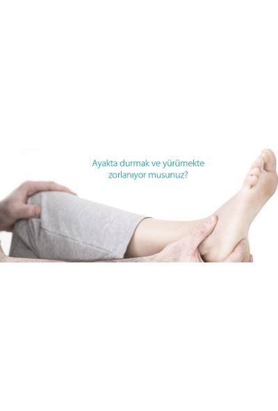 Heeltex Topuk Dikeni Çorabı Siyah Small