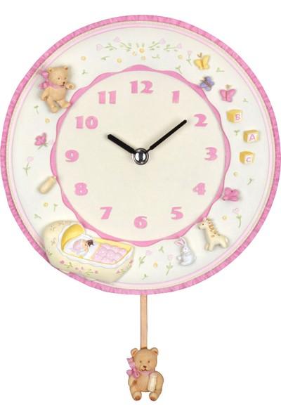 18514 PW Sevimli Ayıcıklı Çocuk Saati