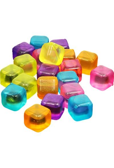 20 Li Renkli Buz Küpleri