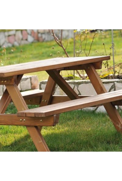 Piknik Masası Kahve-6 Kişilik