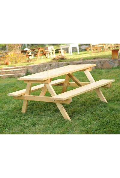 Piknik Masası Naturel-6 Kişilik