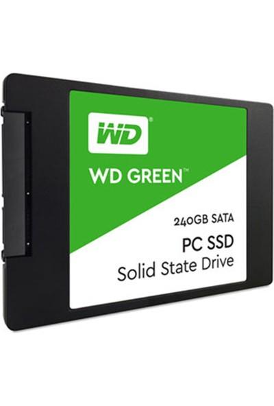 """WD Green 240GB 540MB-465MB/s 2.5"""" Sata 3 SSD WDS240G1G0A"""
