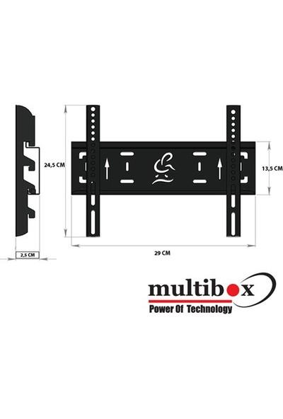 """Cix Multibox Mb-32 19"""" - 37"""" Sabit Askı Aparatı"""