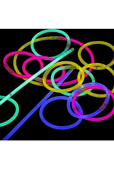Cix Glow Stick Fosforlu Kırılan Çubuk (100 Adet)