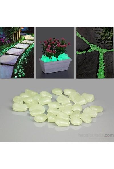 Cix Bahçe Fosforlu Çakıl Taşları 50'li