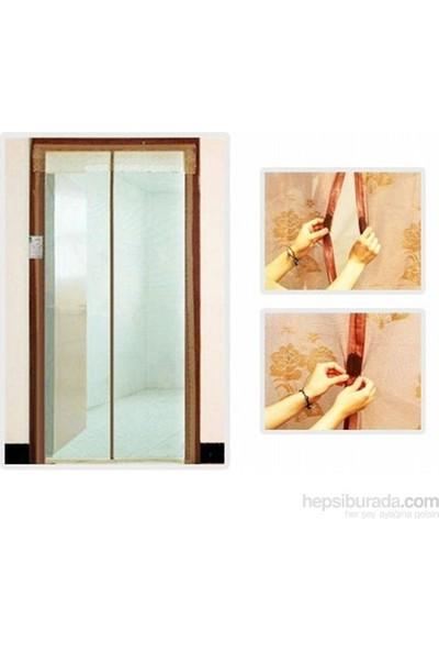 Cix Magic Mesh Mıknatıslı Kapı Sinekliği 190cmx50cm krem