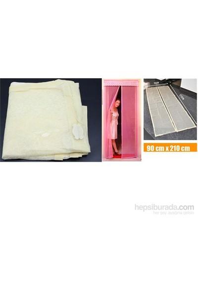 Cix Magic Mesh Mıknatıslı Kapı Sinekliği 210*100cm (Sarı)