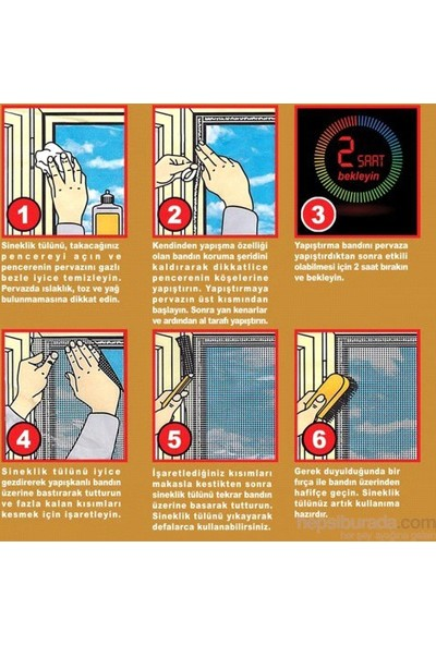 Cix Koruyucu Pencere Sinekliği