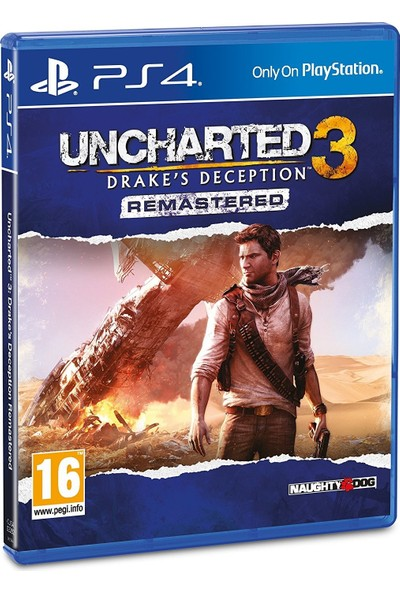 Uncharted 3 Drake's Deception PS4