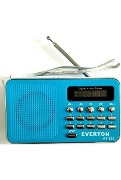 Everton RT-590 Sarjlı Usb Radyo, Hafıza kartı