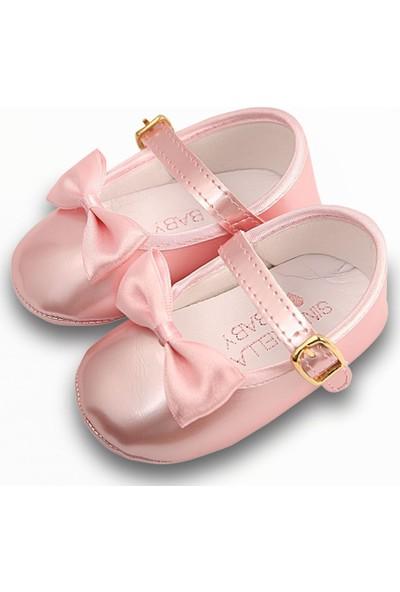 Freesure İsme Özel Kız Bebek Ayakkabı Model 1 Pembe