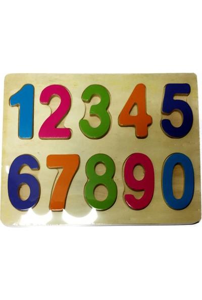 Onyıl Oyuncak Ahşap Puzzle Harfler Ve Rakamlar