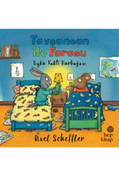 Tavşancan İle Faresu, Uyku Vakti Kurbağası - Axel Scheffler