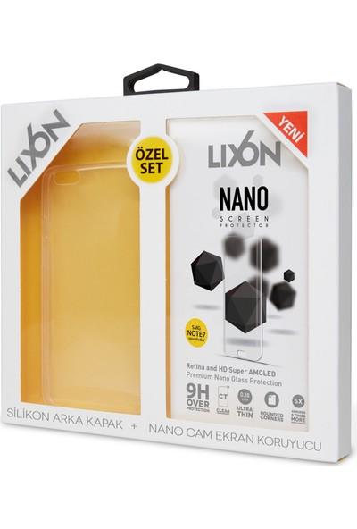 Lixon Turkcell T70 Nano Set2 Ekrn Kryc+Şeffaf Kılıf