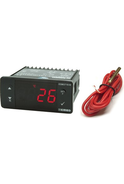 Emko Isı Kontrol Cihazı (Kuluçka Makinesi İçin) -50/100 Derece Esm-3710-N Emko