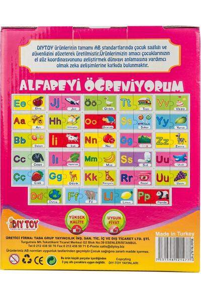 Diytoy Eğlenceli Puzzle Alfabeyi Öğreniyorum