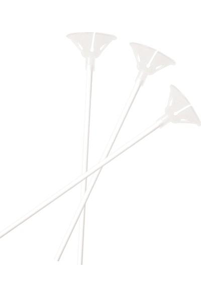 Bebekparti Balon Çubuğu 100 Adet