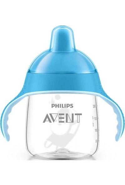 Philips Avent SCF753/05 Penguen Damlatmaz Alıştırma Bardağı 12m 260ml Mavi