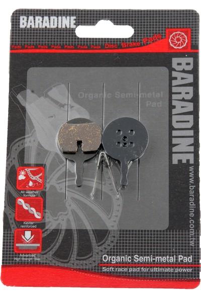 Baradine Fren Balatası Metal Ds-38 Avid Bb5 Siyah