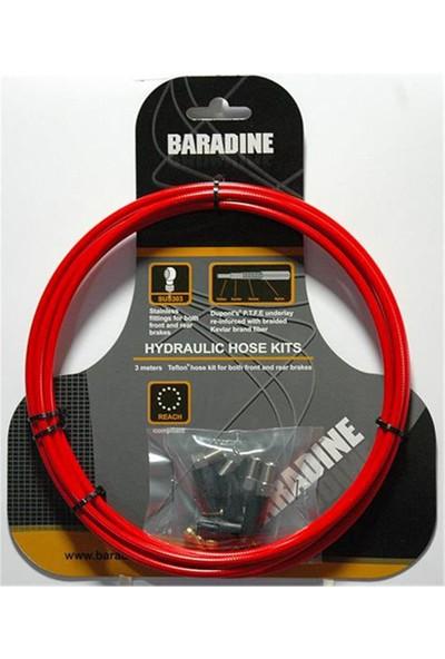Baradine Hidrolik Fren Kablosu Bh-102 Juicy-Code Kırmızı
