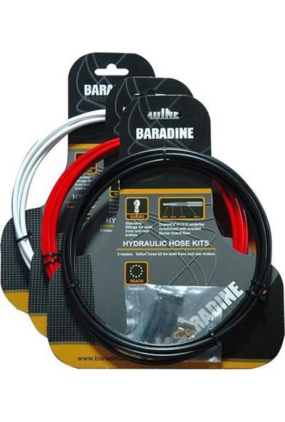 Baradine Hidrolik Fren Kablosu Bh-201 Xtr-Xt-Lx Kırmızı