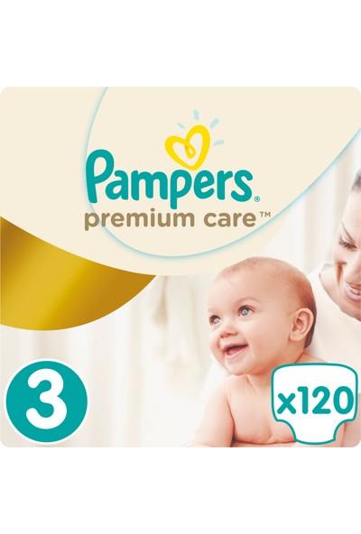 Prima Bebek Bezi Premium Care Aylık Paket 3 Beden 120 Adet
