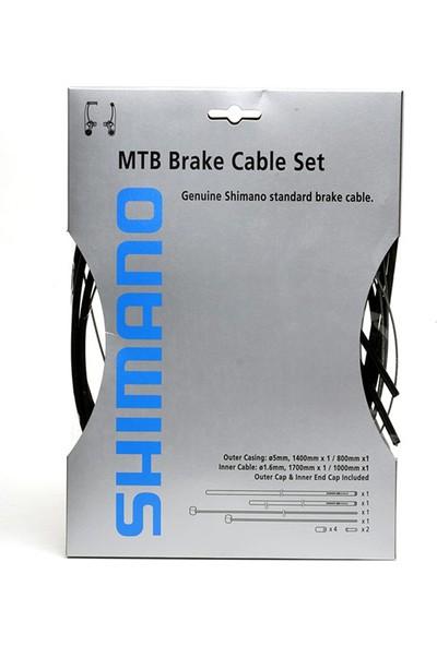 Shimano Atb Fren Kablo Seti Siyah