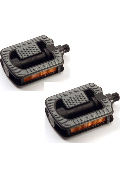 Xerama Pedal Plastik Destekli Siyah