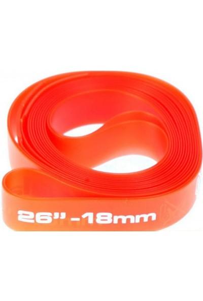 Zefal Jant Bandı Pvc 18 mm 26 Jant Kırmızı