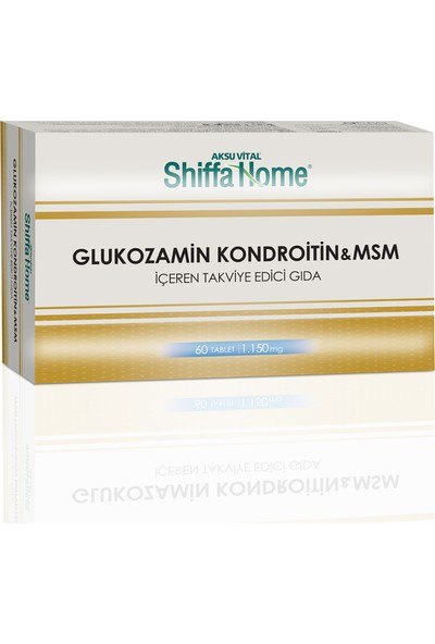 Shıffa Home Glucosamine Chondroitine Msm Tablet