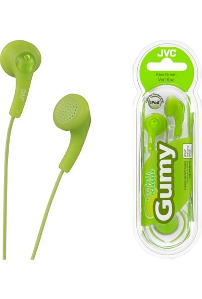 JVC HAF-150GK Gumy Serisi Kulak İçi Yeşil Renk Kulaklık