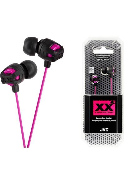 JVC HAF-X101PK XTREME XPLOSIVES Serisi Kulak İçi Pembe Renk Kulaklık