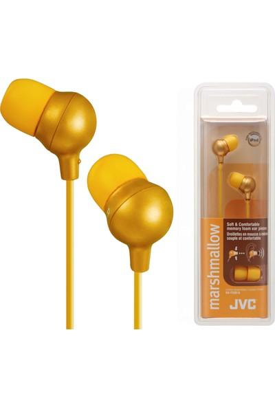 JVC HAF-X30DK MARSHMALLOW Serisi Kulak İçi Sarı Renk Kulaklık