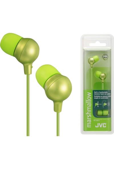 JVC HAF-X30GK MARSHMALLOW Serisi Kulak İçi Yeşil Renk Kulaklık