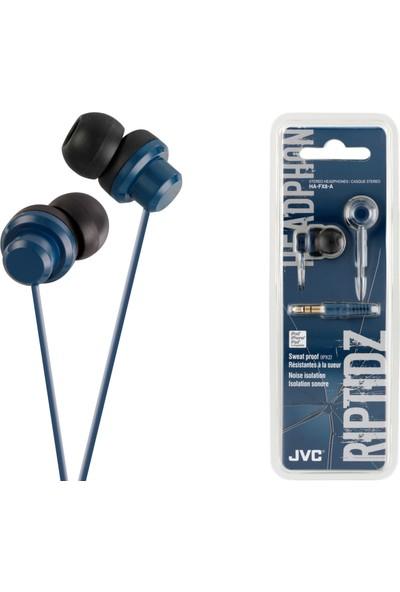 JVC HAF-X8AK RIPTIDZ Serisi Kulak İçi Mavi Renk Kulaklık